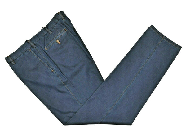 Rota Sport Blue Denim Cotton Jeans Pants ~ Handmade in Italy