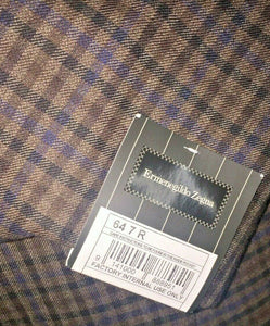 Ermenegildo Zegna Two-Button Wool Sportcoat 52 (EU 64) Handmade in Switzerland