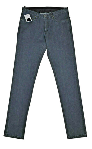 Rota Sport Blue Denim Slim Fit Stretch Cotton Jeans ~ Tailored in Italy