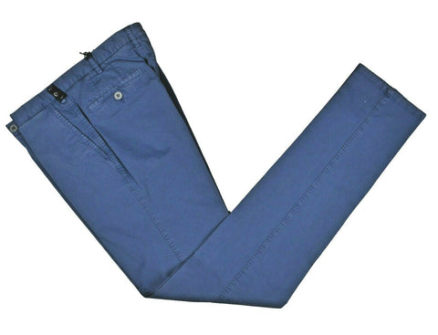 Rota Sport Blue Cotton Pants ~ Handmade in Italy