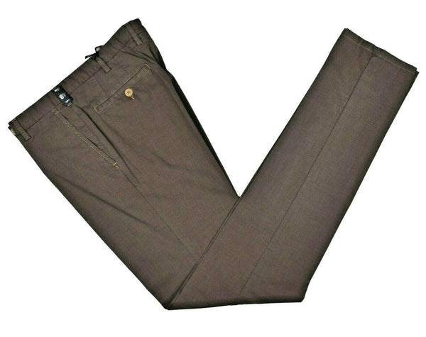 Rota Sport Brown Cotton Pants ~ Handmade in Italy