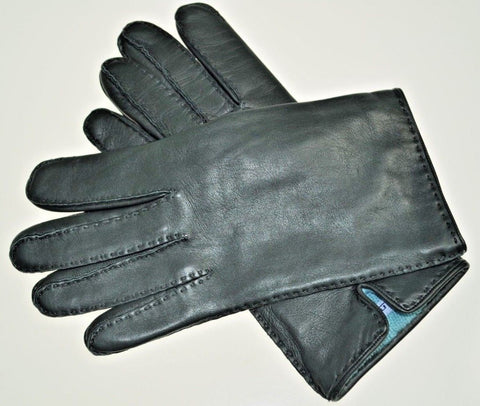 Malo Cashmere Lined Leather Gloves S (EU 7.5)