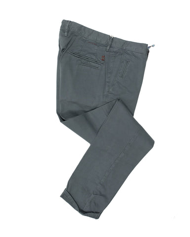 INCOTEX Steel Selvedge Cotton Slacks 36 European Slim Fit