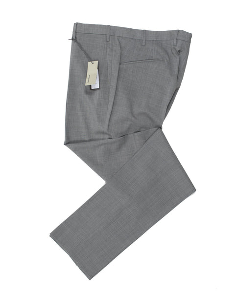 BOGLIOLI Gray Extrafine Wool Slim Fit Dress Pants 36 (54) Made in Italy