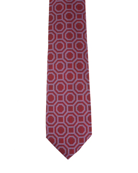 Morigi Milano Limited Edition 7 Fold Silk Tie ~ Hand-made in Napoli, Italy