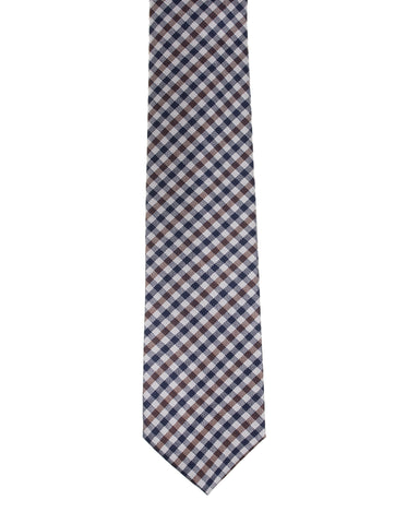 Kiton Napoli 7 Fold Silk Tie ~ Hand-made in Italy