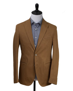 BOGLIOLI Dyed Tobacco Slim-Fit Suit 38 (EU 48) Made in Italy