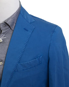 BOGLIOLI Royal Blue Slim-Fit Two Button Suit 38 (EU 48) Made in Italy