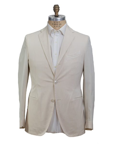 BOGLIOLI Dyed Ivory Slim-Fit Suit 40 (EU 50) Made in Italy