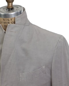 BOGLIOLI COAT Dyed Stone Cotton~Linen Sportcoat 40 (EU 50) Made in Italy