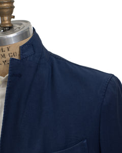BOGLIOLI K. Jacket Dyed Blue Wool Sportcoat 44 (EU 54) Made in Italy