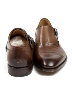 CANALI 1934 Goodyear Welted Brown Leather Shoes 9 (42) Hand-made in Italy
