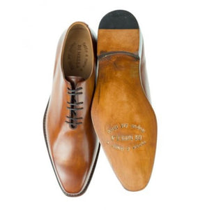 DI MELLA Napoli Wholecut Oxford Shoes ~ Hand-made in Italy ~ Fatte a Mano