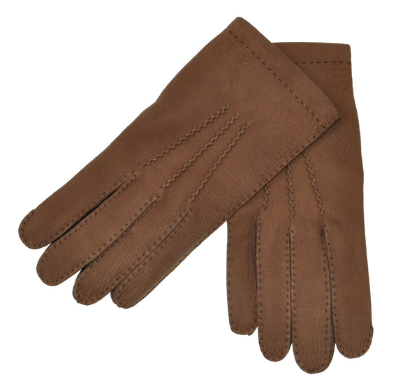 Schiatti & C. Cashmere Lined Leather Gloves L (EU 9) Made in Italy