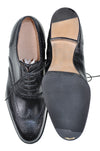 Roberto Ugolini Bespoke Black Calf Leather Shoes 7 (IT 40) Hand-made in Italy