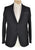 Luigi BORRELLI Napoli Extrafine Wool Black Suit ~ Handmade in Italy