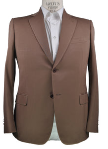Giovanni CASTANGIA Super 140's Wool Two-Button Suit 44 (EU 54) Handmade in Italy