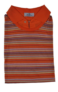 Schiatti & C. Egyptian Raw Cotton Polo Shirt ~ Made in Italy