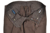 Rota Sport Brown Cotton & Linen Pants 36 (EU 52) Handmade in Italy