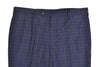 Rota Sartorial Blue Wool-Silk-Linen Dress Pants ~ Handmade in Italy