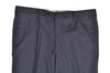 Rota Sartorial Navy Blue Wool Dress Pants 34 Handmade in Italy