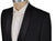 Sartoria CASTANGIA One-Button Black Wool Tuxedo Suit 38 (EU 48) Handmade in Italy