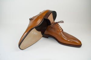 Stefano Bemer Goodyear Welted Shoes 8 (41) Handmade in Italy