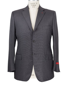 ISAIA Napoli Sciammeria Super 140s Wool Suit 44 46 (56 7R) Handmade in Italy