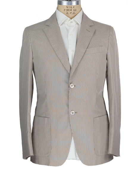 Brioni Superfine Cotton Sportcoat 40 Hand-tailored in Italy