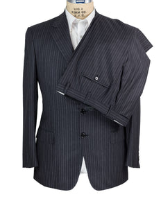 Brioni Superfine Wool Suit 42 (52) Handmade in Italy