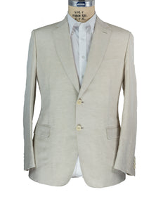 Brioni Superfine Linen~Silk Two-Button Suit ~ Handmade in Italy