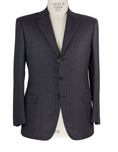 Brioni Superfine Wool Suit 44 (54) Handmade in Italy