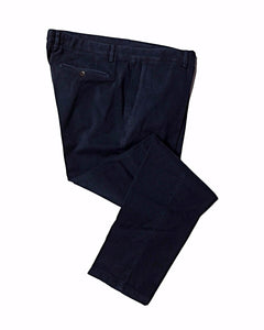 CANALI 1934 Navy Blue Cotton Chino Pants ~ Made in Italy