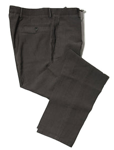 BOGLIOLI Mocha Brown Slim-Fit Stretch Wool & Silk Pants 32 (EU 48) Made in Italy