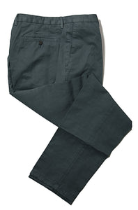 BOGLIOLI Teal Slim-Fit Cotton & Linen Pants 38 (EU 56) Made in Italy