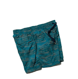 BOGLIOLI Teal Printed Swim Shorts ~ Made in Italy