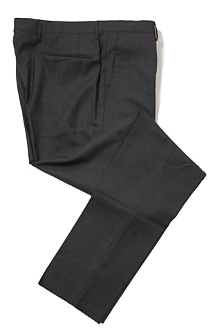 BOGLIOLI Charcoal Gray Wool Slim Fit Dress Pants ~ Made in Italy