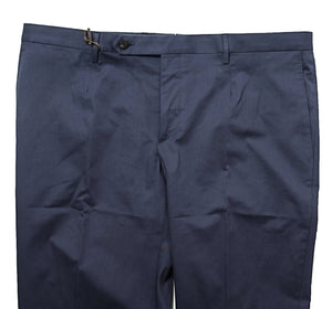 BOGLIOLI Navy Blue Cotton Slim Fit Dress Pants ~ Made in Italy