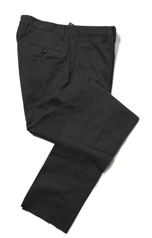 INCOTEX Cashmere Feel Cotton Charcoal Pants 32 HIGH COMFORT