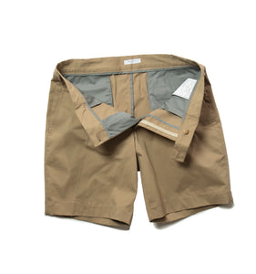 BOGLIOLI Khaki Cotton Slim Fit Shorts ~ Made in Italy