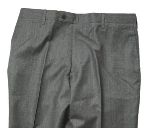 ORAZIO LUCIANO Napoli Wool & Cashmere Gray Pants ~ Handmade in Italy