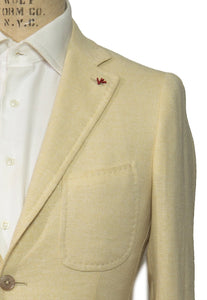 ISAIA Napoli Wool Blend Two-Button Sportcoat 38 (EU 48) Handmade in Italy