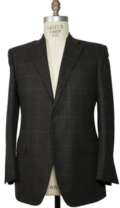 CANALI 1934 Wool Two-Button Sportcoat 46 L (56L) Made in Italy