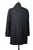 Ermenegildo Zegna Storm System Extrafine Wool Black Coat XXXL (EU 58) Made in Italy