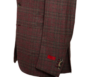 ISAIA Napoli Winter Hopsack Two-Button Sportcoat 40 (EU 50) Handmade in Italy