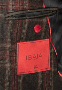 ISAIA Napoli Two-Button Cashmere & Silk Sportcoat 40 (EU 50) Handmade in Italy