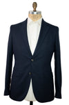 BOGLIOLI Navy Blue Birdseye Wool Sportcoat ~ Made in Italy