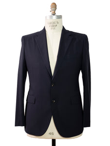 BOGLIOLI Slim-Fit Navy Blue Wool Suit ~ Made in Italy