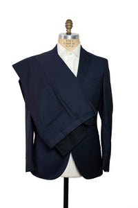 BOGLIOLI Modern-Fit Blue Wool & Silk Suit ~ Made in Italy
