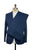 BOGLIOLI Slim-Fit Royal Blue Cotton Suit 40 (EU 50) Made in Italy